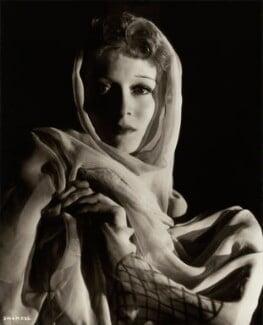 (Eileen Evelyn) Greer Garson, by Davis Claude Boulton - NPG x34547