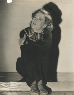 Dame Wendy Margaret Hiller on the set of 'Major Barbara', by Davis Claude Boulton - NPG x34566