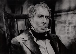 George Arliss as the Duke of Wellington on the set of 'The Iron Duke', by Unknown photographer - NPG x34570