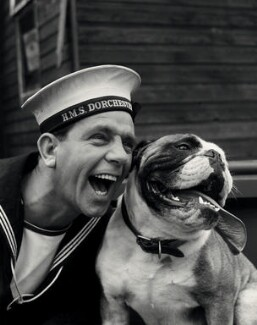 Norman Wisdom as Norman Puckle in 'The Bulldog Breed', by Albert Clarke - NPG x34612