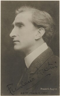 Frederic Austin, by Unknown photographer - NPG x348