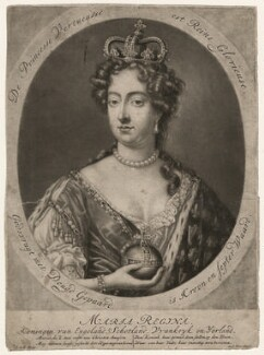 Queen Mary II, by Jacob Gole - NPG D10666