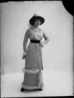 Yvonne Arnaud, by Bassano Ltd, November 1912 - NPG x34947 - © National Portrait Gallery, London