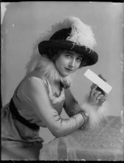 Yvonne Arnaud, by Bassano Ltd, November 1912 - NPG x34948 - © National Portrait Gallery, London