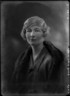Lady Ada Marian Nield (née Maitland), by Bassano Ltd - NPG x34951