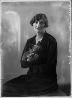 Lady Edith Anne Windham-Dawson, by Bassano Ltd - NPG x34954