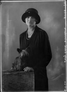 Lady Edith Anne Windham-Dawson, by Bassano Ltd - NPG x34955