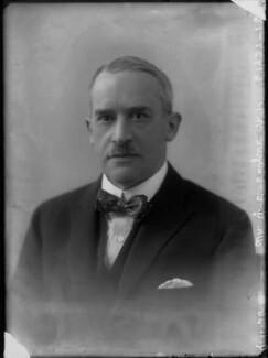 Sir (George) Christopher Clayton, by Bassano Ltd - NPG x34956