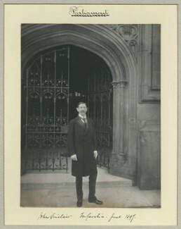John Sinclair, 1st Baron Pentland, by Benjamin Stone - NPG x35081