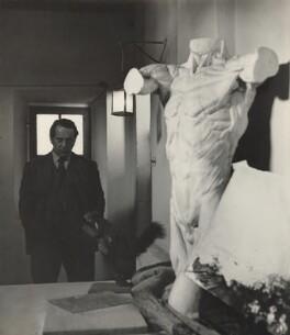 Pietro Annigoni, by (Edward) Russell Westwood - NPG x35251