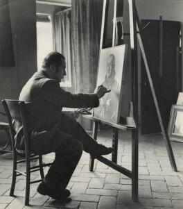 Pietro Annigoni, by (Edward) Russell Westwood - NPG x35254