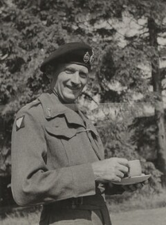Bernard Law Montgomery, 1st Viscount Montgomery of Alamein, by (Edward) Russell Westwood - NPG x35258