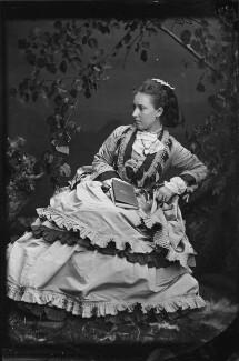 Princess Helena Augusta Victoria of Schleswig-Holstein, by Hills & Saunders, 1870s - NPG x35275 - © National Portrait Gallery, London