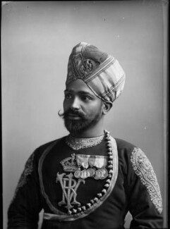 Possibly Ghulum Mustafa, by Hills & Saunders, after 1887 - NPG x35287 - © National Portrait Gallery, London