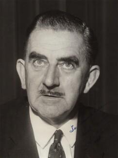 Herbert William ('Bert') Bowden, Baron Aylestone, by Unknown photographer - NPG x353
