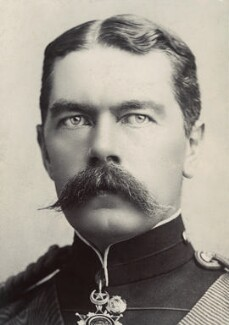 Herbert Kitchener, 1st Earl Kitchener, by Alexander Bassano - NPG x35371