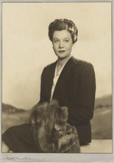 Cornelia Otis Skinner, by Dorothy Wilding - NPG x35499