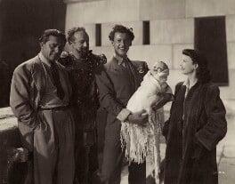 Gabriel Pascal; Basil Sydney; Stewart Granger; Vivien Leigh, by (Edward) Russell Westwood - NPG x35607
