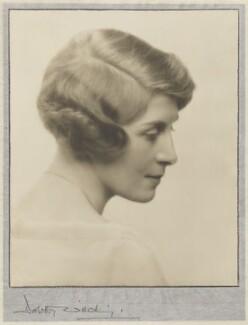 Winnafreda (née Yuill), Countess of Portarlington, by Dorothy Wilding - NPG x35655