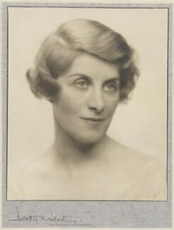Winnafreda (née Yuill), Countess of Portarlington, by Dorothy Wilding - NPG x35656