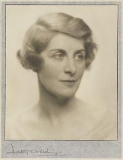 Winnafreda (née Yuill), Countess of Portarlington, by Dorothy Wilding - NPG x35657