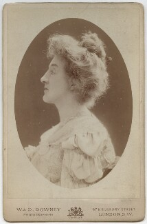 Frances Jane (née Graham), Lady Horner, by W. & D. Downey - NPG x35906
