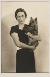 Wallis, Duchess of Windsor, by Dorothy Wilding - NPG x35943