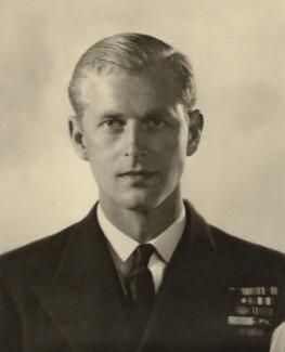 Prince Philip, Duke of Edinburgh, by Dorothy Wilding, July 1947 - NPG  - © William Hustler and Georgina Hustler / National Portrait Gallery, London