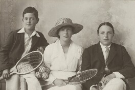 Edward Arthur Alexander Shackleton, Baron Shackleton; Cecily Jane Swinford Shackleton; Raymond Swinford Shackleton, by Unknown photographer - NPG x36023