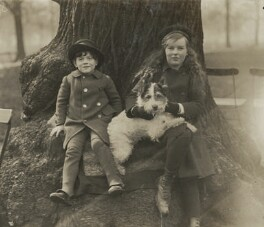 Edward Arthur Alexander Shackleton, Baron Shackleton; Cecily Jane Swinford Shackleton, by Unknown photographer - NPG x36024