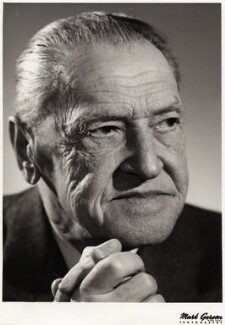 Somerset Maugham, by Mark Gerson - NPG x36064