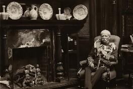 Sir George Wentworth Alexander Higginson, by Olive Edis - NPG x36117