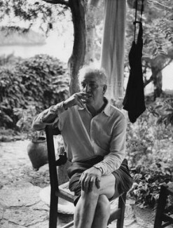 Robert Graves, by Tom Blau - NPG x36141
