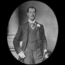 Prince Albert Victor, Duke of Clarence and Avondale, by York & Son, after  Alexander Bassano - NPG x3615