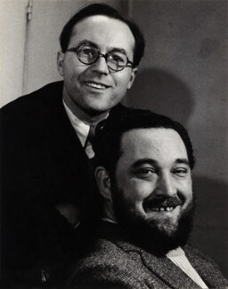 Flanders and Swann (Donald Ibrahim Swann and Michael Flanders), by Georges Maiteny - NPG x36173