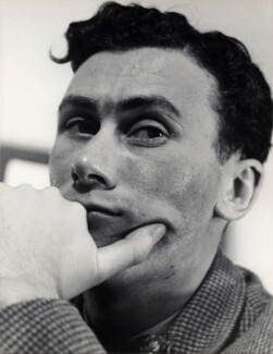 John Osborne, by Georges Maiteny - NPG x36178