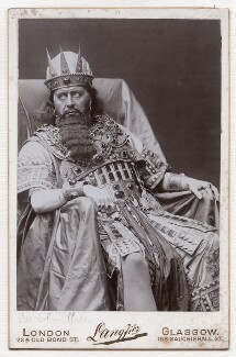 Sir Herbert Beerbohm Tree as King Herod in 'Herod', by Langfier Ltd - NPG x36210