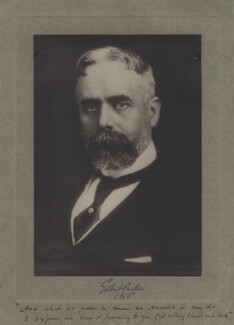 Sir (Horatio) Gilbert George Parker, 1st Bt, by Unknown photographer - NPG x36223