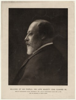King Edward VII, by Baron Adolph de Meyer - NPG x36242