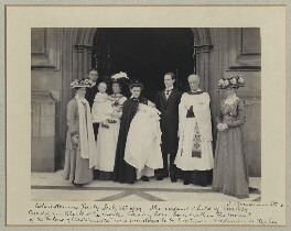 'Christening Party', by Sir (John) Benjamin Stone, 28 July 1909 - NPG x36247 - © National Portrait Gallery, London