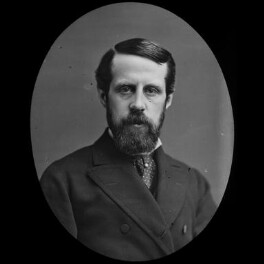 John Campbell Hamilton-Gordon, 1st Marquess of Aberdeen and Temair, by York & Son, after  Unknown photographer, 1890s - NPG x3626 - © National Portrait Gallery, London