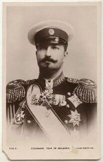 Ferdinand I, Tsar of Bulgaria, published by Rotary Photographic Co Ltd - NPG x36260