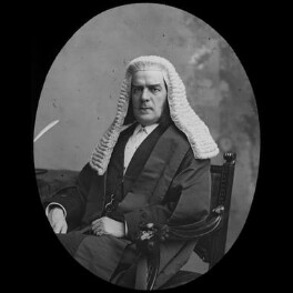 Sir Edward George Clarke, by York & Son, after  Unknown photographer - NPG x3632