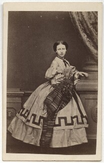 Princess Helena Augusta Victoria of Schleswig-Holstein, by John Jabez Edwin Mayall, February 1861 - NPG x36353 - © National Portrait Gallery, London