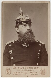 Frederick III, Emperor of Germany and King of Prussia, by Reichard & Lindner - NPG x36379