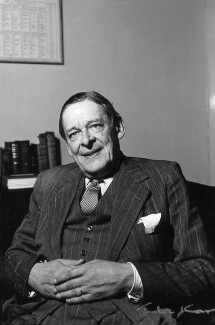 T.S. Eliot, by Ida Kar - NPG x88523