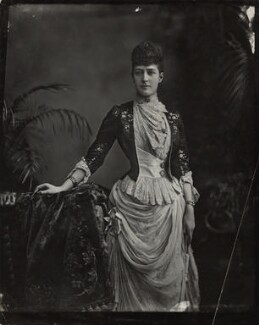 Queen Alexandra, by Lafayette - NPG x36425