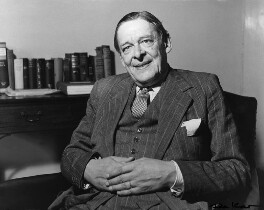T.S. Eliot, by Ida Kar - NPG x88524