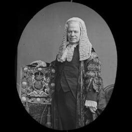 Hardinge Stanley Giffard, 1st Earl of Halsbury, by York & Son, after  Elliott & Fry, 1890s (1887) - NPG x3644 - © National Portrait Gallery, London