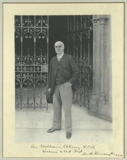 Sir William De Wive-Leslie Abney, by Sir (John) Benjamin Stone, 1901 - NPG x36460 - © National Portrait Gallery, London